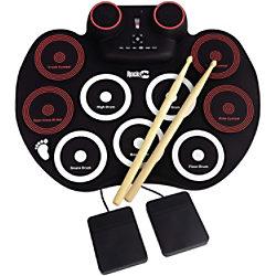 PDT RockJam Roll-up Schlagzeug RJRD800