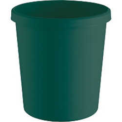 Helit Papierkorb The Green German Kunststoff Grün 31,5 x 31,5 x 33,1 cm 15 Stück H6405852