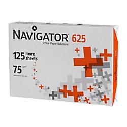 Navigator 625 Papier A4 75 gsm 136 CIE Weiß 625 Blatt 40127