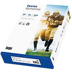 tecno Dynamic Papier DIN A4 4-fach gelocht 80 g/m² Weiß 500 Blatt 88322143