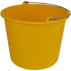 Betra Eimer Polyethylen Gelb 12 l 651056