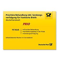 Deutsche Post Priority Briefmarken 10 Stück 2217