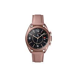 SAMSUNG Galaxy Watch Watch3 Smartwatch Bronze Gehäusefarbe 41 x 42.5 x 11.3 mm Gehäusegröße Bronze Armbandfarbe SM-R850NZDAEUB