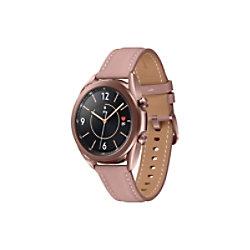 SAMSUNG Galaxy Watch Watch3 Smartwatch Bronze Gehäusefarbe 41 x 42.5 x 11.3 mm Gehäusegröße Armbandfarbe Bronze SM-R855FZDAEUB