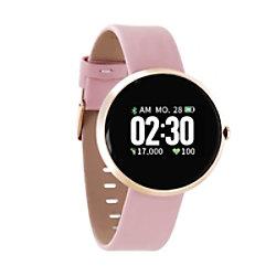 XLYNE Siona X-Watch Smartwatch Roségold Gehäusefarbe Roségold Armbandfarbe 54036