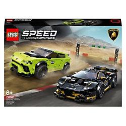 LEGO Speed Champions Lamborghini Urus ST-X und Lamborghini Huracán Super Trofeo EVO 76899 Bauset 8+ Jahre