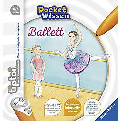 RAVENSBURGER tiptoi Pocket Wissen Ballett 55412 Buch Deutsch
