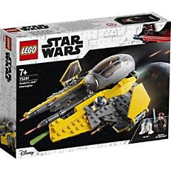 LEGO Star Wars Anakins Jedi-Abfangjäger 75281 Bauset 7+ Jahre