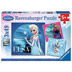 RAVENSBURGER Anna, Elsa, Olaf Disney's Frozen II Frozen, Elsa, Anna, Olaf 9269 Puzzle Deutsch