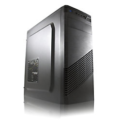 Joy-IT Desktop PC 2 Intel Core i3-9100 8GB GDDR4 256GB SSD GT 1030 2 GB Schwarz Desktop 2