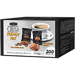 HELLMA Kekse Knusprig und Cremig Trendy Packung mit 200 Stück 70103141
