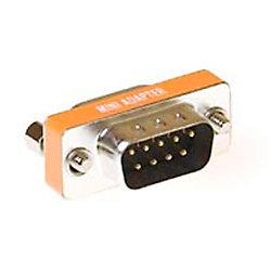 ACT D-Sub Null Modem Adapter 9-polige Buchse auf 9-poligen Stecker AB9803