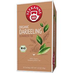 TEEKANNE Bio Darjeeling Tee Packung mit 20 Stück 63503