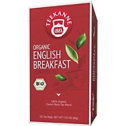 TEEKANNE Bio English Breakfast Tee Packung mit 20 Stück 47288