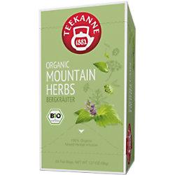 TEEKANNE Bio Bergkräuter Tee Packung mit 20 Stück 47194