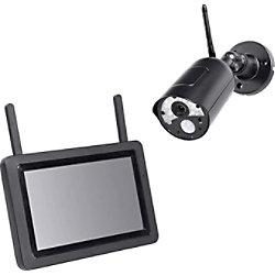 INDEXA DW500 SET Überwachungskamera IP65 Schwarz 27910