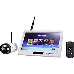 sygonix® sygonix 1594378 CCTV Sicherheits Kamera IP66 Außen 1.920 x 1.080 Pixel Weiß