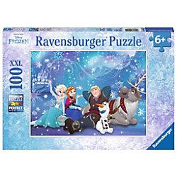 RAVENSBURGER Anna, Elsa, Olaf, Kristoff, Sven Disney's Frozen II Frozen, Frozen - Eiszauber 10911 Puzzle Deutsch