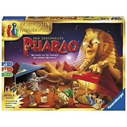 RAVENSBURGER Pharao - Gesellschaftsspiel für die ganze Familie 26656 Memory-Spiel Deutsch