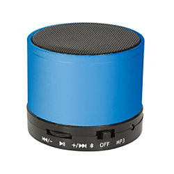 Logilink SP0051 Drahtloser & Bluetooth-Lautsprecher Blau SP0051B