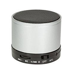 Logilink SP0051 Drahtloser & Bluetooth-Lautsprecher Silber SP0051S