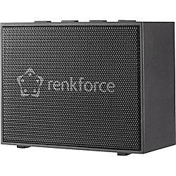 Renkforce BlackBox 1 Drahtloser & Bluetooth-Lautsprecher Schwarz 1561703
