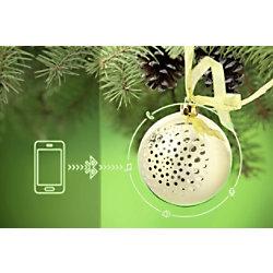 Technaxx 4712 Drahtloser & Bluetooth-Lautsprecher Gold