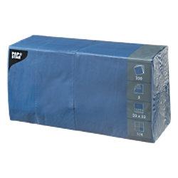 PAPSTAR Servietten 250 Stück Blau 250 Stück 12487