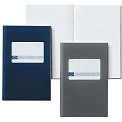 Atlanta 165 x 105 mm Gebundenes blaues Hardcover-Notizbuch Liniert 96 Blatt 2202256000