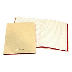 AURORA 105 x 165 mm Kartongebundenes Notizbuch mit weißem Leineneinband kariert 5 mm 96 Blatt 966GQ5