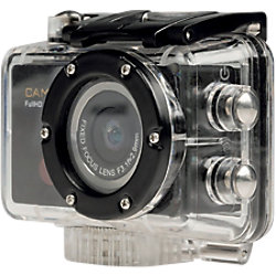 Camlink HD-Action-Kamera CL-AC20 Schwarz, Transparent 5 Megapixel