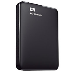 Western Digital 1 TB Festplatte Tragbare externe WDBUZG0010BBK USB-3.0 Typ-A Passwortschutz Schwarz WDBUZG0010BBK-WESN