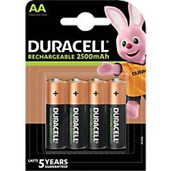 Duracell AA Wiederaufladbare Batterien Ultra Power LR6 2500 mAh NiMH 1,2 V 4 Stück 5.00039E+12