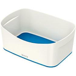 Leitz MyBox WOW Aufbewahrungsschale Weiß, Blau Kunststoff 24,6 x 16 x 9,8 cm 52571036