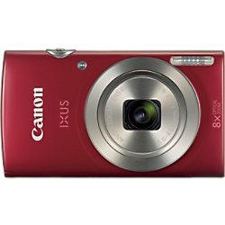 Canon Digitalkamera IXUS 185 Rot 20 Megapixel 1809C001