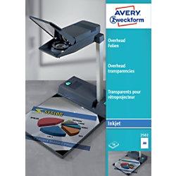 AVERY Zweckform OHP-Folien 2502 Transparent DIN A4 50 Blatt