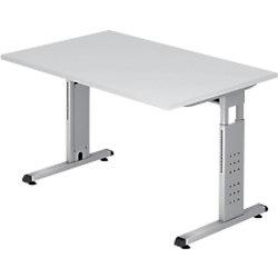 Hammerbacher Schreibtisch VOS12/W/W Weiß 1.200 x 800 x 650 mm