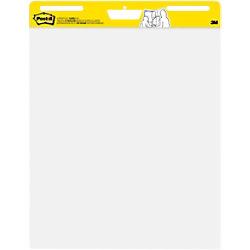 Post-it Flipchart-Papier 559 Weiß 63,5 x 77,5 cm 2 Stück à 30 Blatt MC559