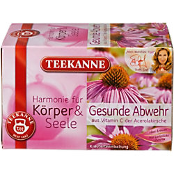 TEEKANNE Kräuter Tee Gesunde Abwehr 20 Stück à 1.75 g 6514