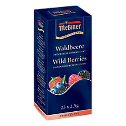 Meßmer Waldbeere Tee 25 Stück à 2.25 g 586637