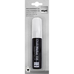 Sigel Kreidemarker/GL171, weiß, abwischbar, 5-15 mm