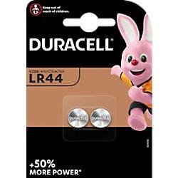 Duracell Knopfzellen LR44B2 Batterien 4LR44 1,5 V Alkali 2 Stück 5000394504424