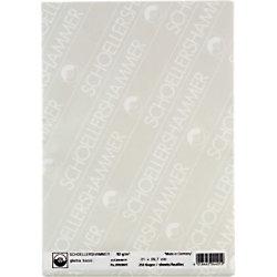 SCHOELLERSHAMMER Transparentpapier Glatt 90 g/m² 297 mm Weiß 250 Blatt VF5003678
