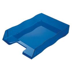 Styro Briefablage 3609117 Polystyrol Blau 25,5 x 36 x 6,2 cm 30-1030.32