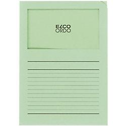 Elco Organisationsmappen DIN A4 Grün 120 g/m² Papier 100 Stück 29489.61