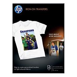 HP HPC6050A Textilfolien DIN A4 170 g/m² 21 x 29,7 cm 12 Blatt