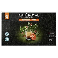 CAFÉ ROYAL Espresso Forte Nespresso* Kaffeepads 50 Stück 73014
