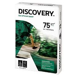 Discovery Eco-efficient Umweltfreundliches Kopier-/ Druckerpapier DIN A4 75 g/m² Weiß 500 Blatt NDI0750241