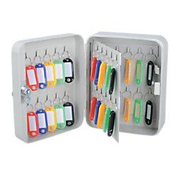 Office Depot Schlüsselkasten 160 x 80 x 200 mm 40 Haken 4051652