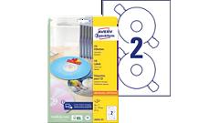 CD/DVD/Diskette Etiketten